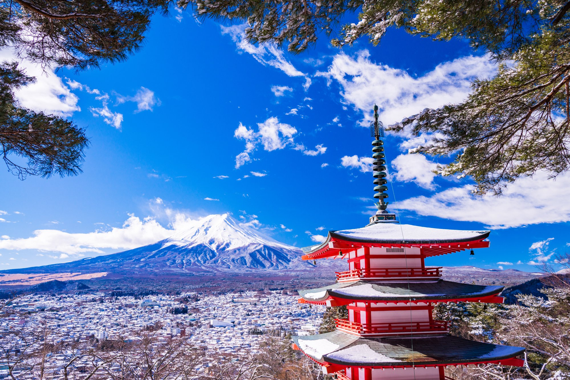 Fujiyoshida: the closest city to Mt. Fuji