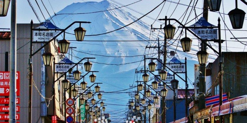 スポット 富士山 絶景